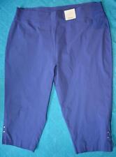 BeMe Lilac Capri Pants. Size 26 Stud Trim Bengaline Style New RRP $49.99 STRETCH