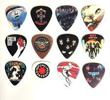 Famous Album Covers -- 12 Full Colour Guitar Picks  - Plectrums - Plectra LOT 2