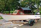 1961 Grady White Pamlico Historic Antique Wood Boat 75 Evinrude Runs Great Fish!