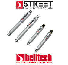 98-03 Nissan Frontier Street Performance Front/Rear Shocks for 2/3 Drop