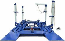 22 FEET 4 TOWERS AUTO BODY SHOP FRAME MACHINE WITH FREE CLAMPS,TOOLS TOOLS CART