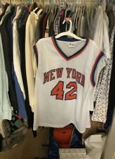 New York Knicks David Lee Signed NBA Jersey 42