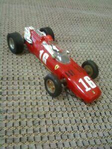 1/32 SCALE SCRATCH BIULT 1966 FERRARI F1 SLOT CAR