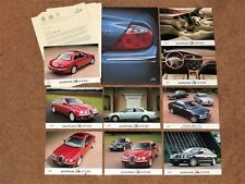 1998 JAGUAR S-TYPE Launch Press Kit with 9 Photos and 15 pages of information