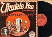 Ukelele Ike (Cliff Edwards) - I'm A Bear In A Lady's Boudoir Vinyl LP Record