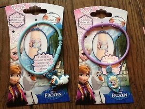 BNIP New Disney Frozen 2 Bracelets Wristwraps - Elsa Olaf Collect & Connect