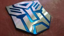 Transformers Autobots 3D ALUMINIUM Car Badge Emblem Sticker Home/Office/Laptop