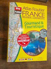 Atlas routier gourmand et touristique Belgique Luxembourg