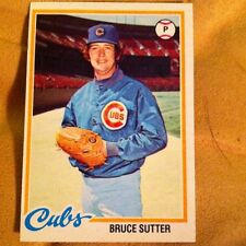 1978 O-Pee-Chee #196 HOF Bruce Sutter Cubs Collectible Baseball Card