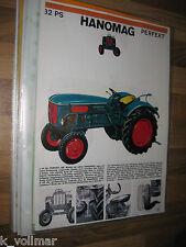 ✪✪✪Prospekt INFO/Blatt/Broschüre Hanomag Perfekt 32 PS  Traktor Trecker 1 Seitig