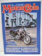 Classic Motor Cycle Magazine, 12 issues 1987 complete