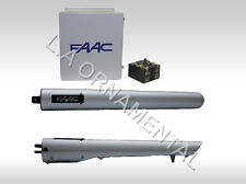 FAAC S418 Electro Mechanical 24vdc Dual Swing Gate Operator for Residential Unit
