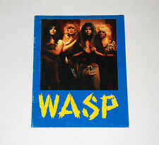 W.A.S.P. 'Inside The Electric Circus' Concert Program Tour Book 18-pgs Rare WASP