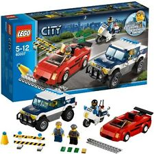 JANUARY 2013 LEGO CITY POLICE HIGH SPEED CHASE 60007, NIB & ON HAND, GREAT GIFT