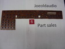 Kenwood KR-V106R Front Panel Switch Board. Parting Out KR-V106R