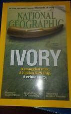National Geographic Magazine September 2015 Ivory, Myanmar, Buddhists, Very good