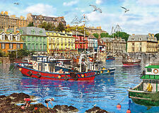 Gibsons - 500 XL BIG PIECE JIGSAW PUZZLE - Cobh Harbour