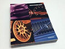 1999 Volvo S70 V70 T5 AWD XC AWD R C70 S80 T6 Full Line Colors Brochure