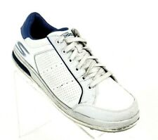 Skechers Go Golf Mens Size 9.5 Casual Hybrid Shoes White Leather Upper