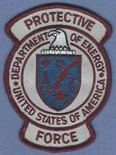UNITED STATES DEPARTMENT OF ENERGY PROTECTIVE SERVICE FORCE POLICE PATCH