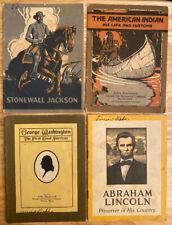 4 1920's John Hancock Booklets
