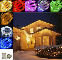 10-100 LED Christmas Tree Decor Fairy String Party Light Lamp Xmas Waterproof hi