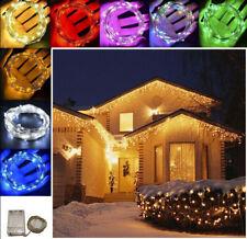 10-100 LED Christmas Tree Decor Fairy String Party Light Lamp Xmas Waterproof hi