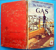 Gas Ladybird vintage book board home fire natural drilling North Sea pipes 2'6n