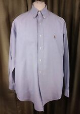 "Polo by Ralph Lauren Yarmouth 100% Cotton Oxford Button Down Shirt 16.5"" C42"""