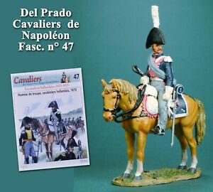 Del Prado, Cavaliers de Napoléon 47, Carabinier hollandais, 1815
