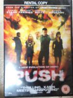 Chris Evans Dakota Fanning PUSH ~ 2008 superhéroe acción película GB DVD