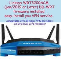 Linksys WRT3200 AC ACM Router 1.6MHz  easy-install-your-VPN service dd-wrt-2019