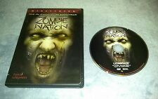 DVD Zombie Nation DVD 2006 Movie Zombies Action Packed Blood Horror