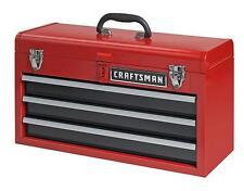 NEW Craftsman 3 Drawer Portable Mechanic Tool Box Chest Cabinet Garage Organizer