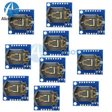 10pcs I2c Rtc Ds1307 At24c32 Real Time Clock Module For Arduino Avr Arm Pic Smd