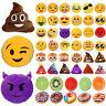 Emoticon Poo Monkey Fruit Plush Toy Donut Soft Cushion Stuffed Throw Pillow Gift