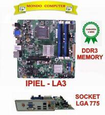 SCHEDA MADRE SOCKET LGA 775  HP / ASUS  IPIEL-LA3 + BACK PANEL