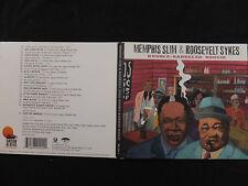 CD MEMPHIS SLIM & ROOSEVELT SYKES / DOUBLE BARRELED BOOGIE /