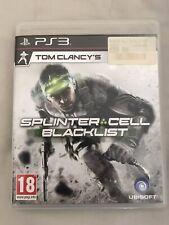 Splinter Cell Blacklist (PS3)