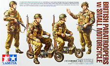 Tamiya 35337 British Paratroopers W/small Motorcycle 1 35