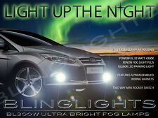 Xenon Halogen Fog Lamps Driving Lights Kit for 2012 2013 2014 Ford Focus Mk3