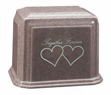 Extra-Large 500 Cubic Ins Granite Companion Cremation Urn - Choice of 8 Colors