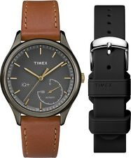 Timex TWG013800F5 37mm Brass IQ+ Move Watch and Activity Tracker