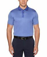 PGA Tour Mens Shirt Blue Size 2XL Stripe Short Sleve Golf Polo Rugby $65 #022