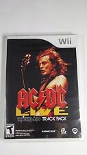AC/DC Live: Rock Band Track Pack (Nintendo Wii, 2008) FACTORY SEALED