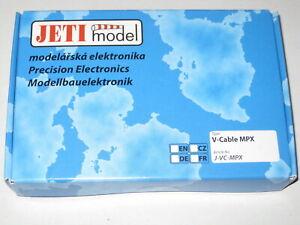 Jeti V Kabel MPX (Akkuweiche ohne Regulierung) für 2S LiXX oder 4-5 NiXX Zellen