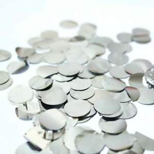 20g Round Circle Foil Metallic Silver Party Confetti Dots Table Scatters