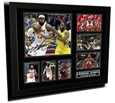 LEBRON JAMES CLEVELAND CAVALIERS 2014 SIGNED LIMITED EDITION FRAMED MEMORABILIA