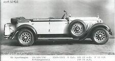 MERCEDES-BENZ Voiture de sport 24/100/140 1924-1929 PHOTO PHOTOGRAPHE auto