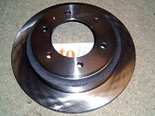 Rear brake discs, Isuzu Trooper 3.0/3.1 TD, 3.2/3.5 V6